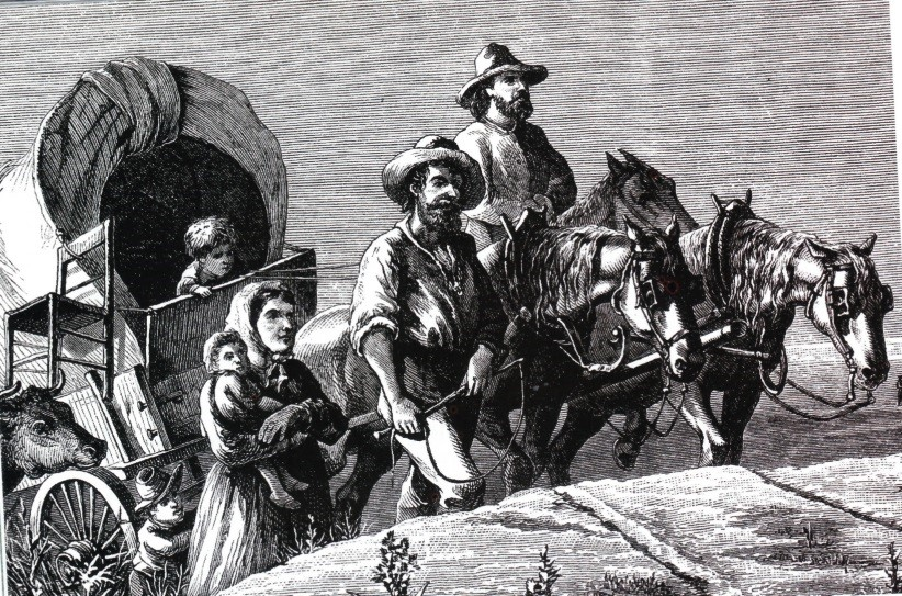 How immigrants got to South Dakota from New York in the 1889's