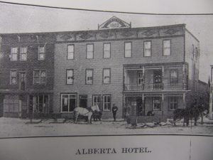 alberta-hotel-where-humbkes-stayed-upon-arrival-in-wetaskiwin