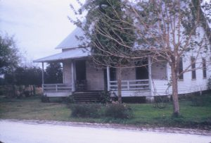 1924 Dick and Hulda Humbke's home in Zolof Springs, Wauchola, Florida